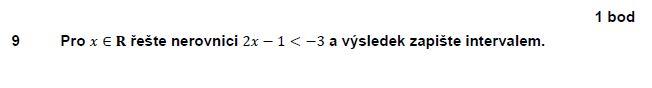 matematika-test-2011-jaro-zadani-priklad-9