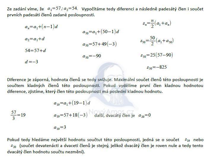 matematika-test-2012-jaro-reseni-priklad-4,5,6