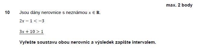 matematika-test-2011-jaro-zadani-priklad-10