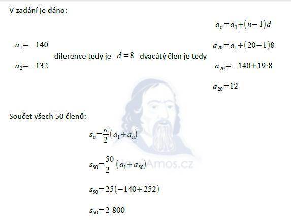 matematika-test-2011-podzim-reseni-priklad-8,9,10a