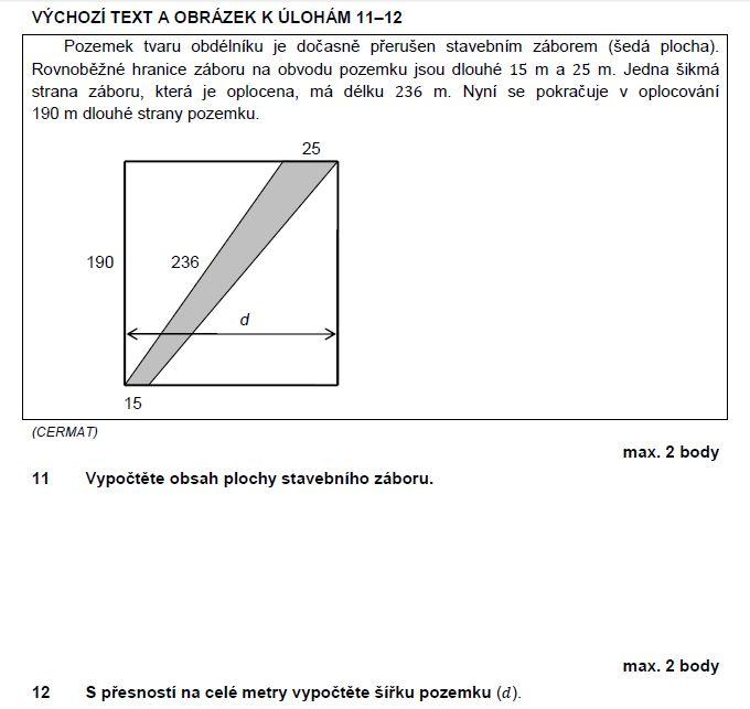 matematika-test-2011-podzim-zadani-priklad-11,12