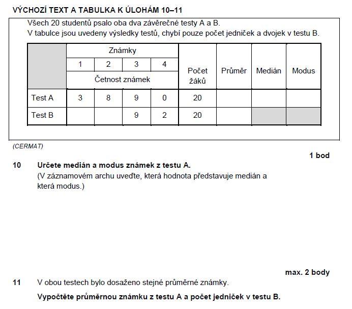 matematika-test-2012-ilustracni-zadani-priklad-10,11