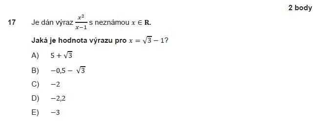 matematika-test-2012-podzim-zadani-priklad-17